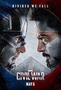 Captain America Civil War teaser poster