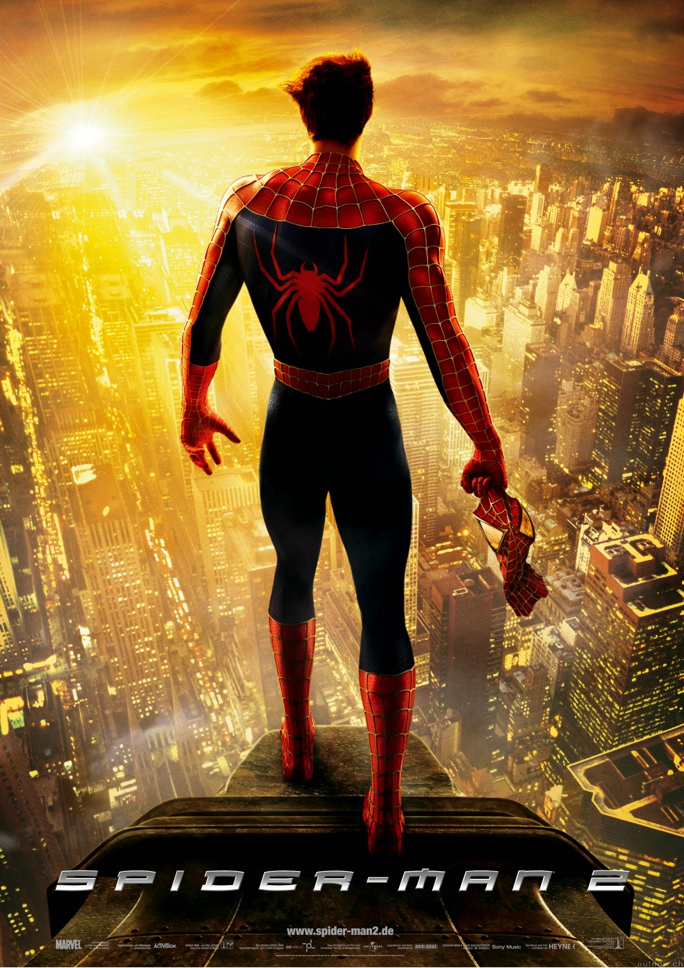 Image spider man 2 poster spider man films wiki for Domon man 2004