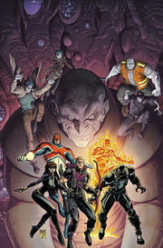 Venom as a member of the Secret Avengers