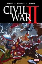 Civil War II Vol. 1 -5