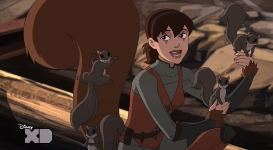 Ultimate spider man web warriors squirrel girl - photo#3