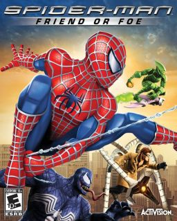 Spider-Man Friend or Foe cover