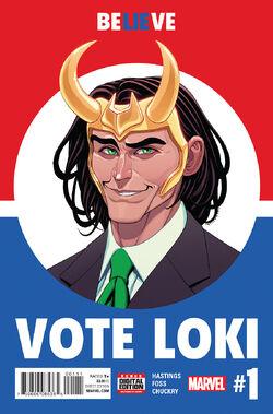 Vote Loki Vol. 1 -1