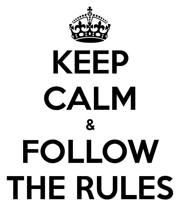 قوانین و مقررات ما