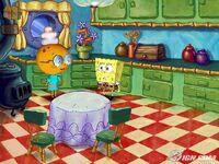 3d Grandma Squarepants & 3D Spongebob