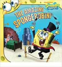 The Amazing SpongeBobini Reprint Cover Paperback