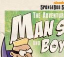 The Adventures of Man Sponge and Boy Patrick in E.V.I.L vs. the I.J.L.S.A