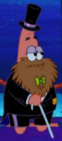 Fancy Patrick with a Beard