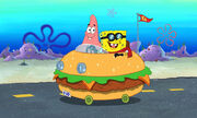 Patrick & Spongebob In The Patty Wagon