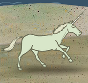 Sand Castle Hassle sand unicorn