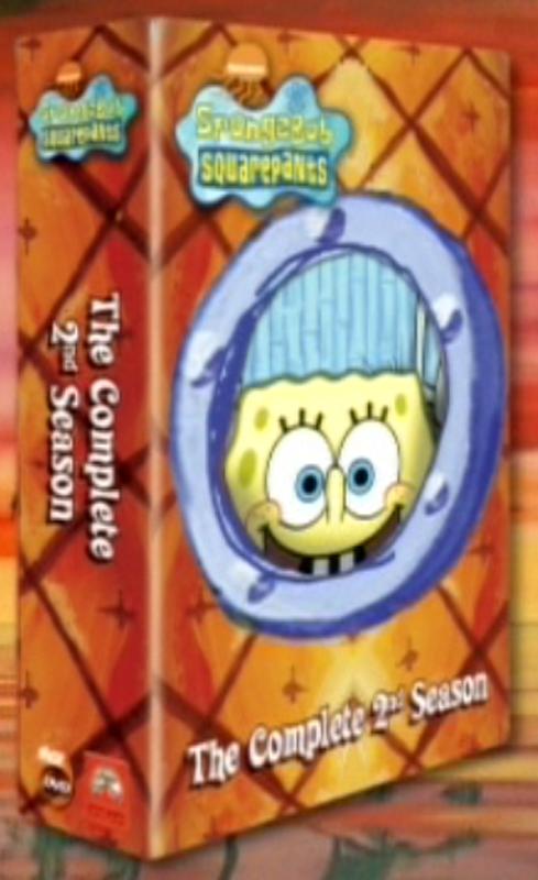 Spongebob Seasons Dvd Early Dvd Artwork Spongebob