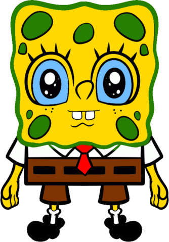 File:Anime SpongeBob.png