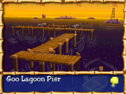 Goo Lagoon Pier in The Yellow Avenger