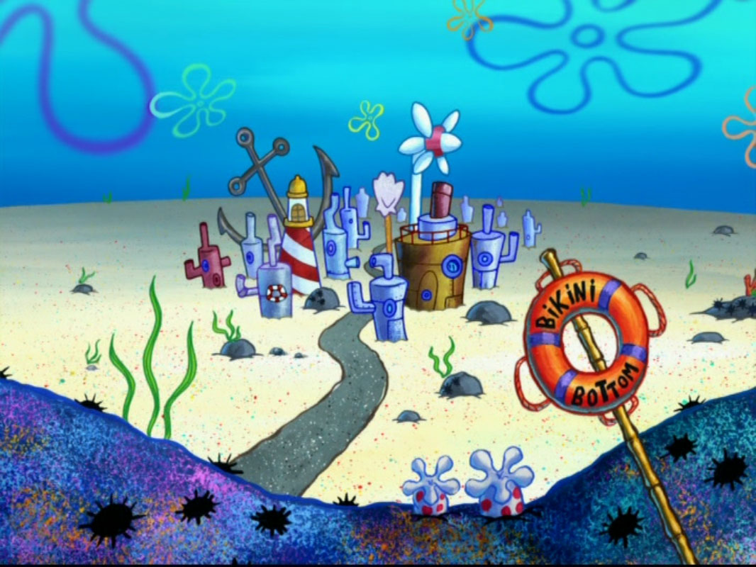 bikini bottom buildings - photo #39