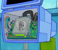 SpongeBob SquarePants Karen the Computer Hard Drive