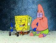 SpongeBobPatricklaughing