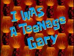 I Was a Teenage Gary