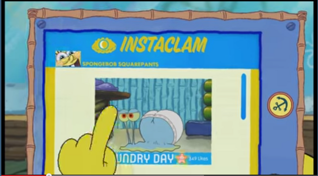 File:SpongeBob Checks His Instaclam 04.png