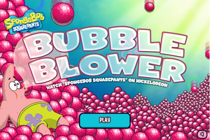 Bubble Blower Game