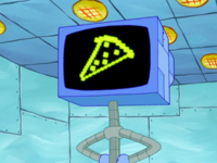 SpongeBob SquarePants Karen the Computer Pizza