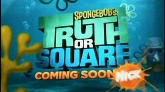 "(HQ) ""SpongeBob's Truth or Square"" promo"