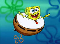 The sponge who could fly