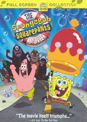 SpongeBob Movie DVD Full Screen
