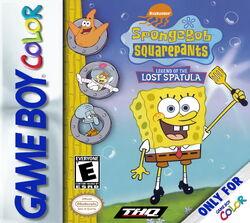 SB Legend Of Lost Spatula Cover