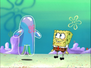 SpongeBob with Bubble Buddy