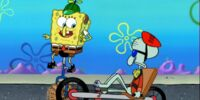 Squidward's Recumbent Bicycle/gallery