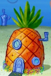 SpongeBob's pineapple house in Season 6-1