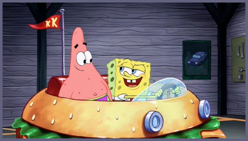 File:You don't need a license to drive a sandwich. SpongeBob and Patrick..jpg