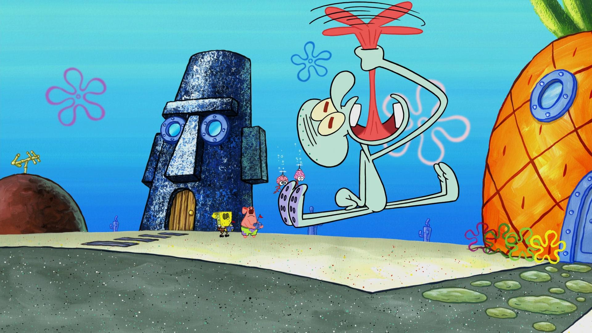 Spongebob halloween episode brain : Countryside trailer park ...