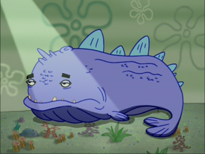 Purple Dinosaur Fish