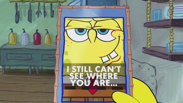 File:SpongeBob Checks His Snapper Chat 51.png