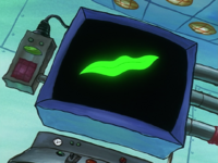 SpongeBob SquarePants Karen the Computer Seaweed