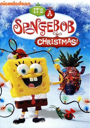 Its A SpongeBob Christmas DVD