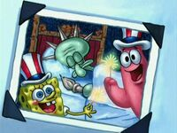 4th of July - Breath of Fresh Squidward