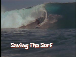 Saving the Surf