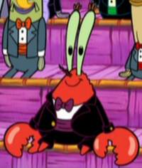 Mr. Krabs Wearing Fancy Clothes4