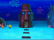 Patrick Star's House in Planet of the Jellyfish