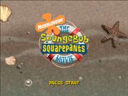 SpongeBob Movie Game Title Screen