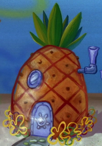 SpongeBob's pineapple house in Help Wanted