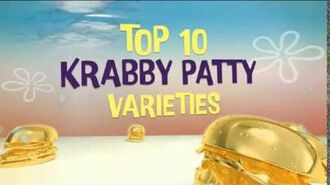 SpongeBob SquarePants Goodbye Krabby Patty Asian Au. Promo No1 - Top 10 Krabby Patty Varieties