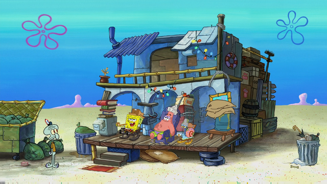 File:SpongeBob & Patrick's Trash House.png