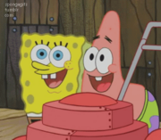SpongeBob and Patrick Gif