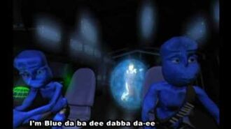 Eiffel 65 - Blue (Da Ba Dee) (Original Video with subtitles)-1