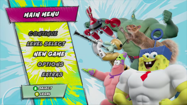 File:SpongeBob HeroPants - Main Menu.png