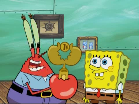 File:Mr. Krabs and SpongeBob with Cheapskate Trophy.png