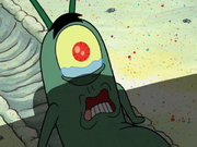 Plankton in The Krabby Patty That Ate Bikini Bottom 17